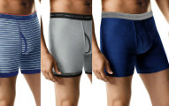 Hanes 5 Pack Men's Underwear TAGLESS Boxer Briefs