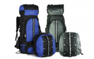 Hybrid Waterproof Hiking Backpack with Detachable Daypack