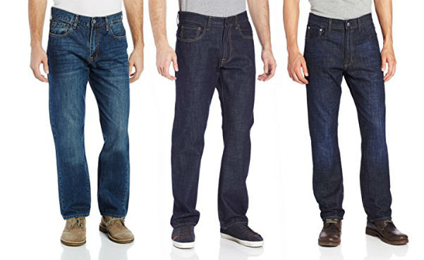 Izod Men's Big and Tall Relaxed-Fit Jean