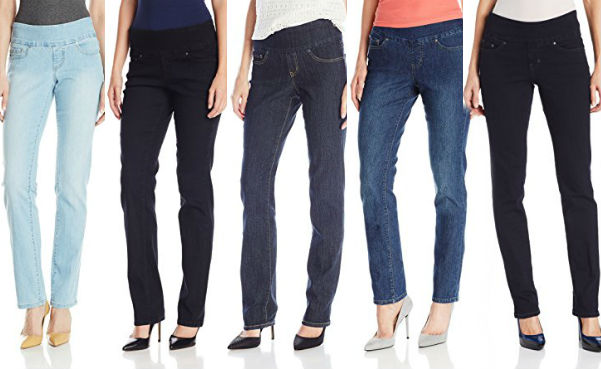 Jag Jeans Women's Peri Pull-on Straight Leg Jeans