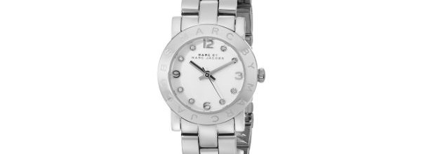 Marc by Marc Jacobs Amy Silver/White Bracelet Watch