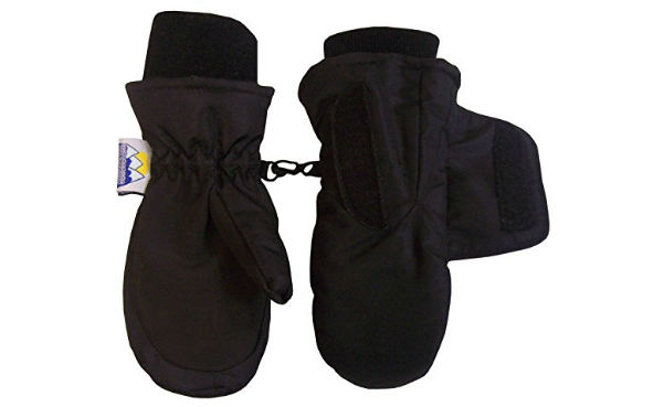 N'Ice Caps Kids Easy On Velcro Waterproof Snow Mitten