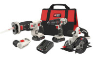 Porter-Cable Cordless Lithium-Ion 4-Tool Combo Kit
