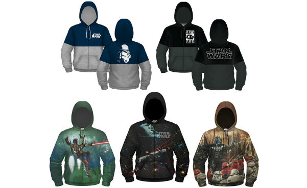 Star Wars Embossed HD Zip-Up Hoodies