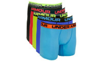 "Under Armour 6"" 5-Pack Boxer Jocks"