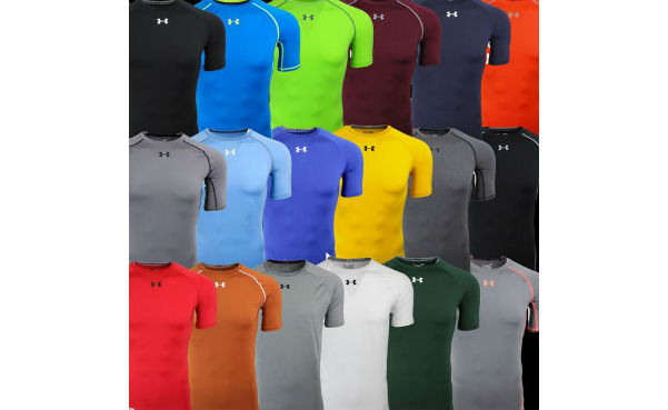 Under Armour Men's Fitted T-Shirt Fitness 3-Pack