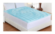 "Authentic Comfort 3"" Orthopedic 5-Zone Foam Mattress Toppers"