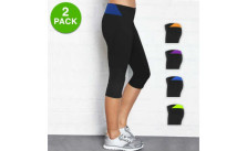 Ladies Prestige Edge Capri Yoga Pants
