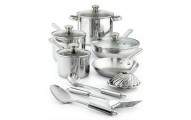 Tools of the Trade Stainless Steel 13-Pc. Cookware Set, Only at Macy's
