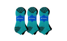 6-Pairs Columbia Women's No Show Socks