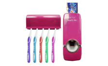 Automatic Toothpaste Dispenser & Toothbrush Holder Set