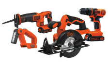 Black and Decker Drill/Driver, Saw, and Worklight Combo Kit