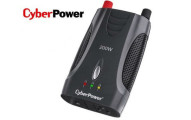 CyberPower 200-Watt Power Inverter with USB Port and AC Outlet