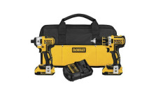 DEWALT Compact Drill/Driver and Impact Driver Combo Kit
