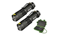 Elite Special Forces Gear 500-Lumen Tactical Flashlight