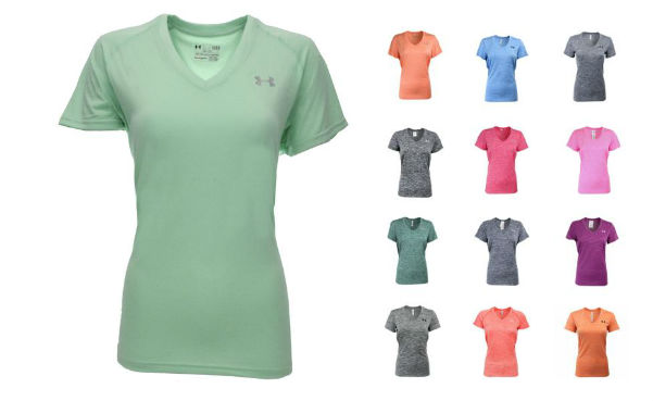 Under Armour Women's UA Twisted Loose V-Neck T-Shirt