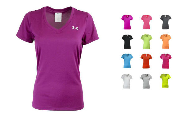 Under Armour Women's UA V-neck Loose Fit T-shirt