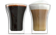 Anchor and Mill Double Walled Coffee Glasses