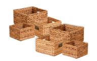Honey-Can-Do 6-Pack Nesting Water Hyacinth Baskets
