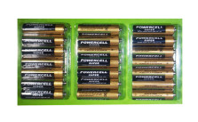 21-Pack Powercell Super Extra Heavy Duty AA Batteries