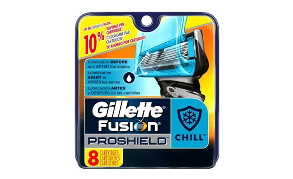8 Count Gillette Fusion PROSHIELD Men's Razor Cartridges