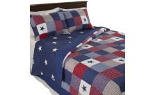 All American Quilted Blanket Bedspread
