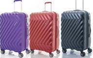 American Tourister Z-Lite DLX 20 Spinner Luggage