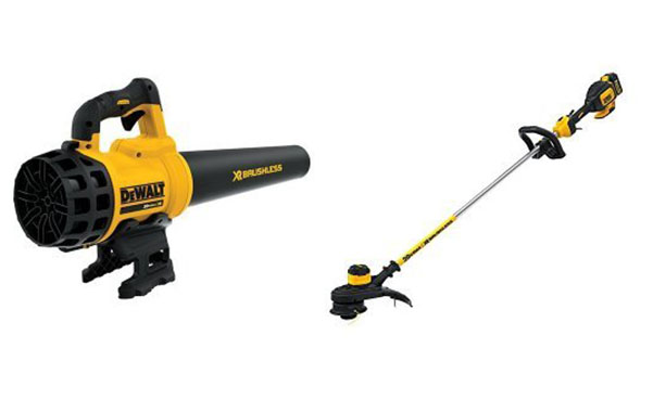 DEWALT Brushless String Trimmer and Blower Bundle