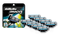 Gillette Mach3 Razor Refill Cartridges
