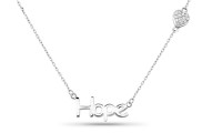 Sterling Silver Feeling Necklace