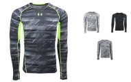 Under Armour Men's HeatGear Armour Printed Compression Shirt