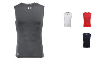 Under Armour Men's Heatgear Sonic Compression Sleeveless T-shirt