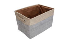 Collapsible Cloth Household Organizer & Home Storage Cube Bin with Handles