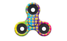 Emoji Fidget Hand Tri-Spinner Stress Relief Manipulative Play Toy