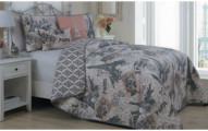 Printed Quilt Set