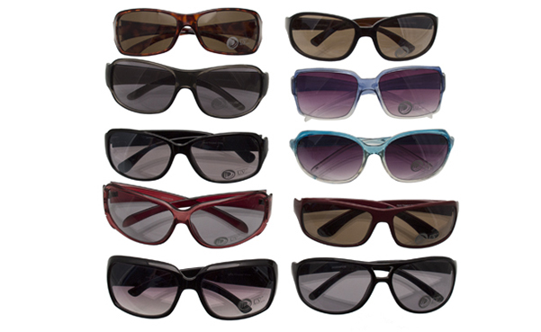 10-Pairs Random Assortment of Sunglasses