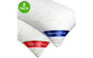 2-Pack Refael Collection™ Rayon from Bamboo Pillowcases