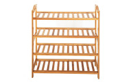 4-Tier Space Saving Wood Shoe Storage Rack