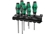 6 Pieces Wera Kraftform Plus Screwdriver Set