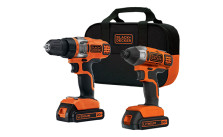 Black & Decker Drill and Impact Driver Kit