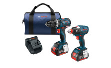 Bosch 2-Tool Impact Driver and Hammer Drill Combo Kit