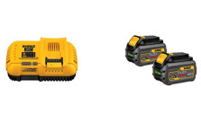 DEWALT FLEXVOLT Battery Dual Pack with FLEXVOLT Fast Charger