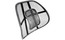 Evelots Curved Massaging Lumbar Mesh Seat Supporter