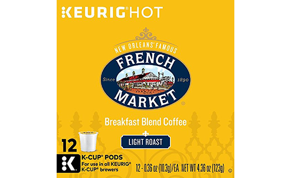 FRENCH MARKET Coffee Single Serve Cups