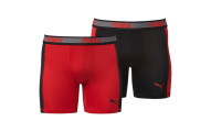 PUMA Solid Side Panel Boxer Briefs (2 Pack)