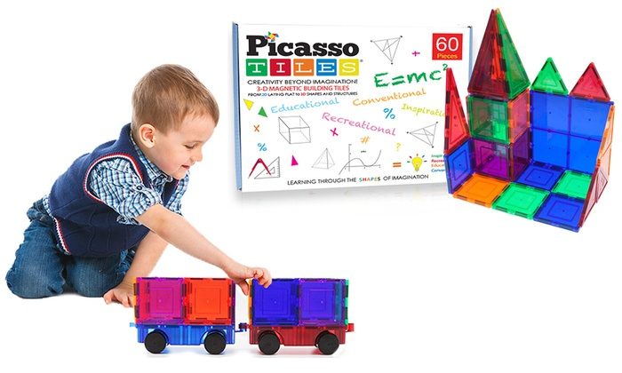 Picasso Tiles 3D Magnetic Building Block Sets