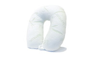 Rayon from Bamboo Memory Foam Travel Pillow