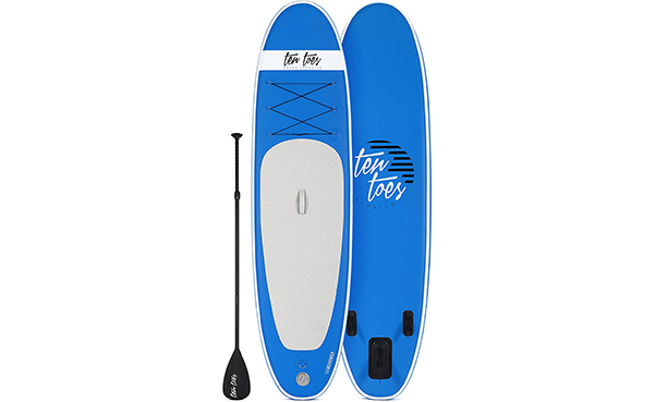 Ten Toes Board Emporium Weekender Inflatable Stand Up Paddle Board Bundle