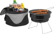 The Big Backyard Portable Barbecue Grill & Cooler Combo