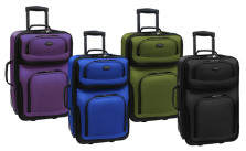 US Traveler Rio Expandable Rolling Carry-On Luggage
